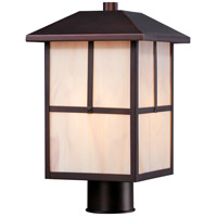 Tanner 1 Light 14 inch Claret Bronze Post Light
