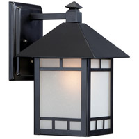 Drexel ES 1 Light 11 inch Stone Black Outdoor Wall Light