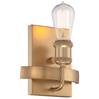 Paxton 1 Light 7 inch Natural Brass Wall Sconce Wall Light
