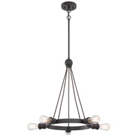 Nuvo 60/5725 Paxton 5 Light 28 inch Aged Bronze Chandelier Ceiling Light