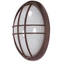 Nuvo Lighting Signature 1 Light Outdoor Wall Lantern in Architectural Bronze 60/573