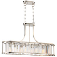 Krys 4 Light 37 inch Polished Nickel Pendant Ceiling Light