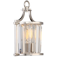 Nuvo 60/5766 Krys 1 Light 8 inch Polished Nickel Wall Sconce Wall Light