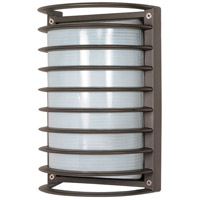 Nuvo Lighting Signature 1 Light Outdoor Wall Lantern in Architectural Bronze 60/577