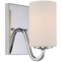 Willow 4 inch Polished Nickel Wall Light