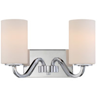 Willow 14 inch Polished Nickel Wall Light