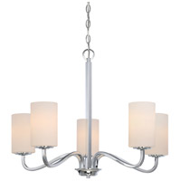 Willow 27 inch Polished Nickel Hanging Chandelier Ceiling Light