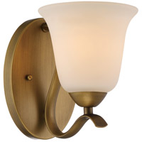 Dillard 6 inch Natural Brass Wall Light