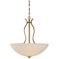 Nuvo 60/5817 Dillard 4 Light 22 inch Natural Brass Pendant Ceiling Light