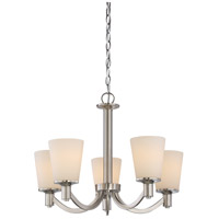 Laguna 5 Light 23 inch Brushed Nickel Chandelier Ceiling Light