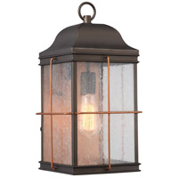 Howell 1 Light 17 inch Bronze with Copper Accents Outdoor Wall Light