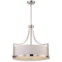 Meadow 4 Light 24 inch Polished Nickel Pendant Ceiling Light