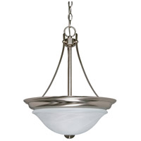 Nuvo 60/590 Triumph 2 Light 16 inch Brushed Nickel Pendant Ceiling Light photo thumbnail