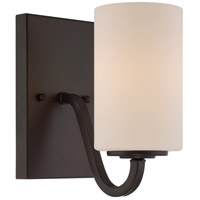 Willow 1 Light 4 inch Forest Bronze Vanity Light Wall Light