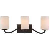 Willow 3 Light 23 inch Forest Bronze Vanity Light Wall Light