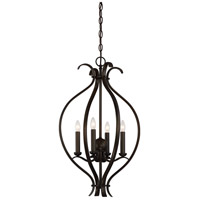 Dillard 4 Light 16 inch Forest Bronze Pendant Ceiling Light