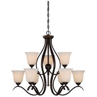Dillard 9 Light 31 inch Forest Bronze Chandelier Ceiling Light