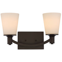Nuvo 60/5922 Laguna 2 Light 16 inch Forest Bronze Vanity Light Wall Light
