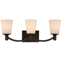 Nuvo 60/5923 Laguna 3 Light 24 inch Forest Bronze Vanity Light Wall Light