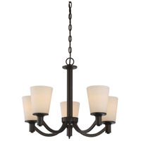 Nuvo 60/5925 Laguna 5 Light 23 inch Forest Bronze Chandelier Ceiling Light photo thumbnail