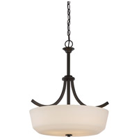 Nuvo 60/5927 Laguna 4 Light 20 inch Forest Bronze Pendant Ceiling Light