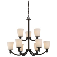Laguna 9 Light 31 inch Forest Bronze Chandelier Ceiling Light