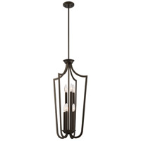 Nuvo 60/5977 Laguna 6 Light 17 inch Forest Bronze Pendant Ceiling Light