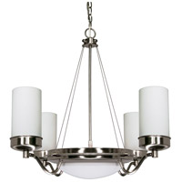 Nuvo 60/607 Polaris 6 Light 29 inch Brushed Nickel Chandelier Ceiling Light