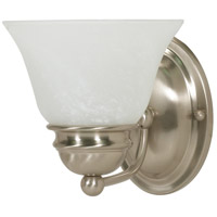 Nuvo 60/6077 Signature 1 Light 6 inch Brushed Nickel Vanity Wall Light