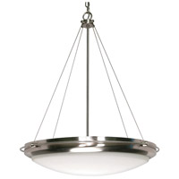 Nuvo 60/610 Polaris 3 Light 23 inch Brushed Nickel Pendant Ceiling Light