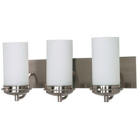 Polaris 3 Light 21 inch Brushed Nickel Vanity & Wall Wall Light
