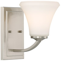 Nuvo 60/6201 Fawn 1 Light 6 inch Brushed Nickel Vanity Light Wall Light