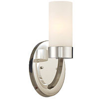 Nuvo 60/6221 Denver 1 Light 5 inch Polished Nickel Vanity Light Wall Light