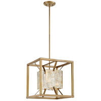Nuvo 60/6271 Stanza 1 Light 15 inch Antique Gold Pendant Ceiling Light