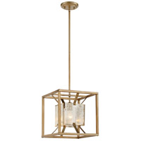 Nuvo 60/6273 Stanza 1 Light 12 inch Antique Gold Pendant Ceiling Light