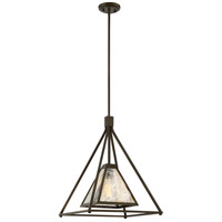 Nuvo 60/6281 Mystic 1 Light 17 inch Forest Bronze Pendant Ceiling Light