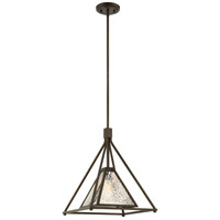 Nuvo 60/6282 Mystic 1 Light 14 inch Forest Bronze Pendant Ceiling Light