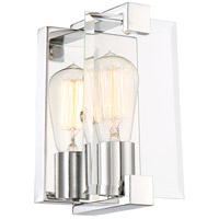 Nuvo 60/6291 Shelby 1 Light 5 inch Polished Nickel Vanity Light Wall Light