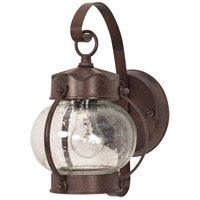Nuvo 60/631 Signature 1 Light 11 inch Old Bronze Outdoor Wall Lantern