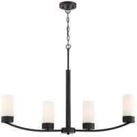Denver 4 Light 34 inch Mahogany Bronze Island Pendant Ceiling Light