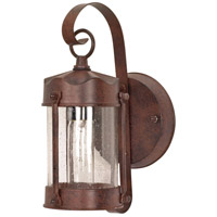 Nuvo Lighting Signature 1 Light Outdoor Wall Lantern in Old Bronze 60/634
