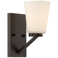 Nuvo 60/6341 Nome 1 Light 5 inch Mahogany Bronze Vanity Light Wall Light