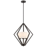 Nuvo 60/6345 Nome 3 Light 20 inch Mahogany Bronze Pendant Ceiling Light