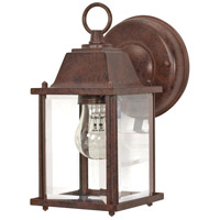 Nuvo Lighting Signature 1 Light Outdoor Wall Lantern in Old Bronze 60/637 photo thumbnail