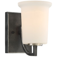 Nuvo 60/6371 Chester 1 Light 5 inch Iron Black Vanity Light Wall Light