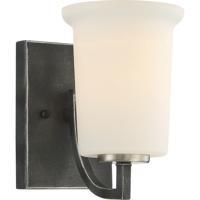 Nuvo 60/6371 Chester 1 Light 5 inch Iron Black Vanity Light Wall Light