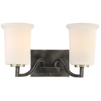Nuvo 60/6372 Chester 2 Light 15 inch Iron Black Vanity Light Wall Light
