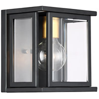 Payne 1 Light 8 inch Black Vanity Light Wall Light