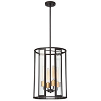 Nuvo 60/6415 Payne 4 Light 14 inch Black Pendant Ceiling Light