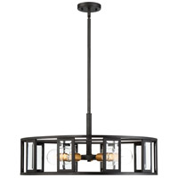 Payne 5 Light 26 inch Black Pendant Ceiling Light